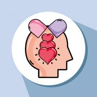 psychology analysis therapy inspiration design vector illustration
